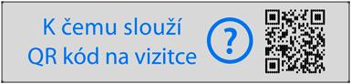 Barevné QR kódy na vizitkách
